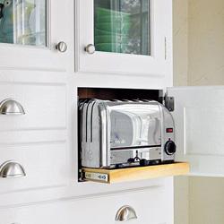 space-saving-appliance-garage - KBC Direct | Kitchen Cabinets