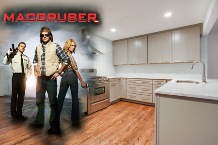 Macgruber and Kitchen Design
