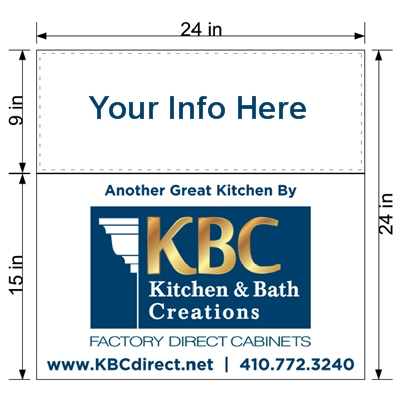 Professional Kitchen Installers - Lawn Signs Provide Valuable Exposure