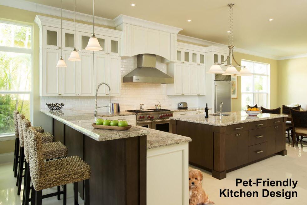 Pet Friendly Kitchen Design Kitchen Cabinets Kbc Direct In Maryland