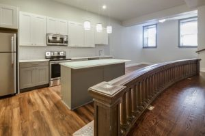 A Church Altar Rail in a Kitchen - Yes!