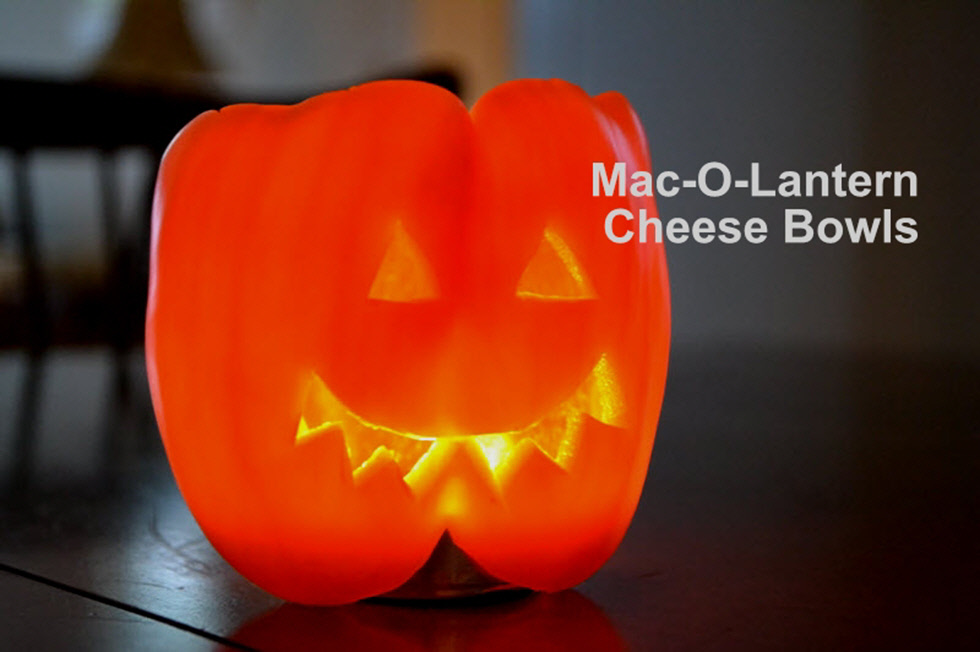 Halloween Recipe - Mac and Cheese