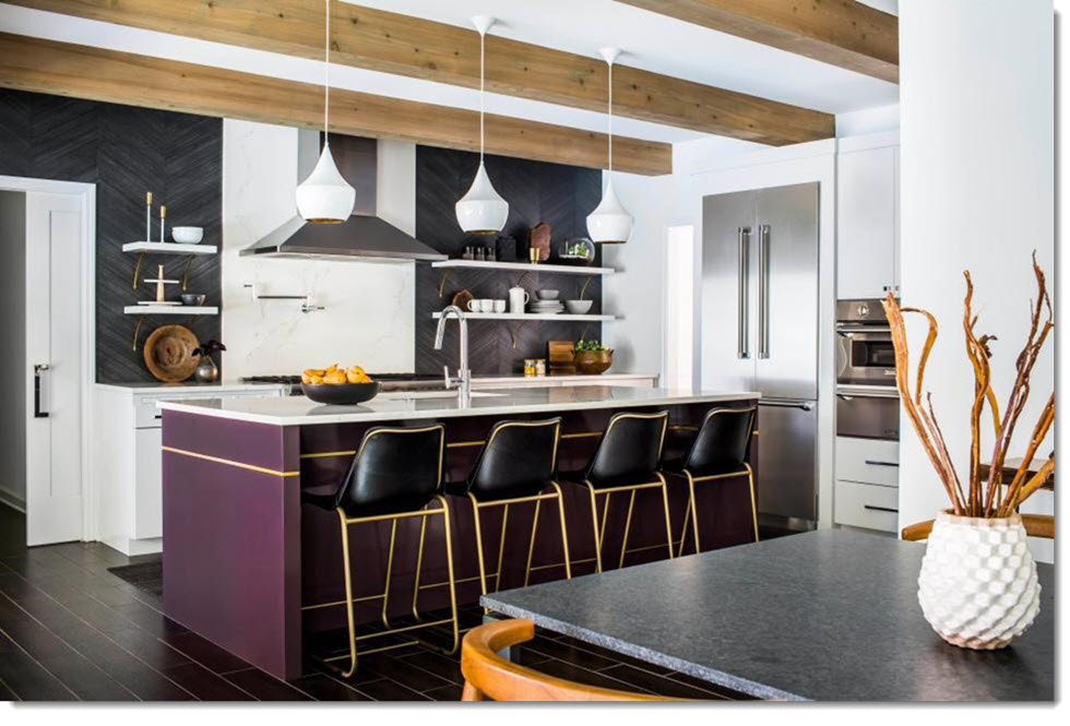 Kitchen Design Trends Ultra Violet
