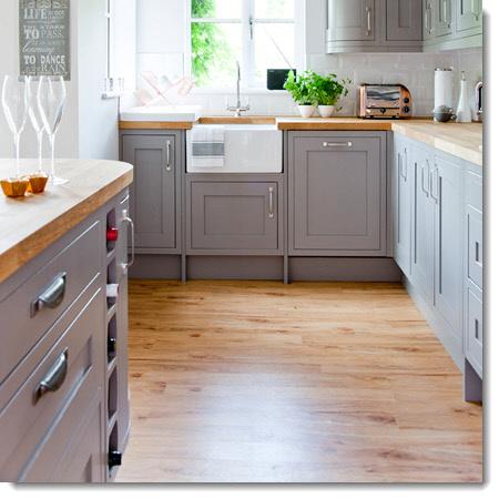 Kitchen Design - Flooring