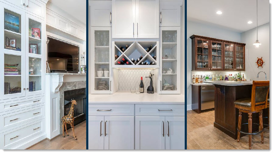 Do you install cabinets in other areas of a home?