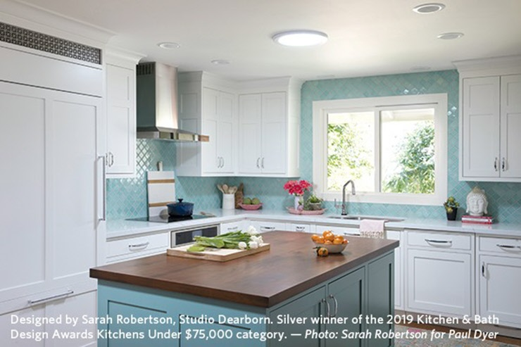Kitchen and Bathroom Color Design